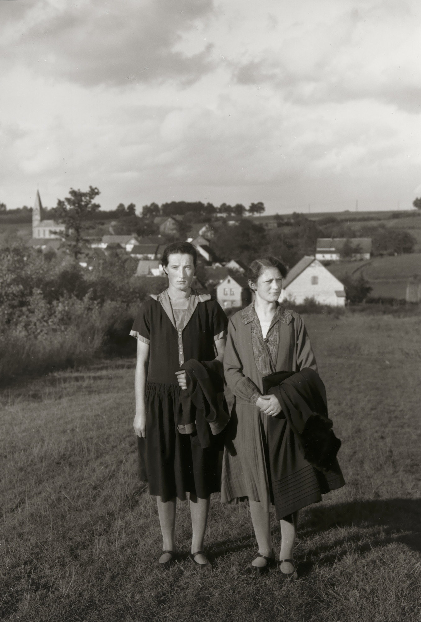 August Sander. Farm Girls from the Westerwald. 1927