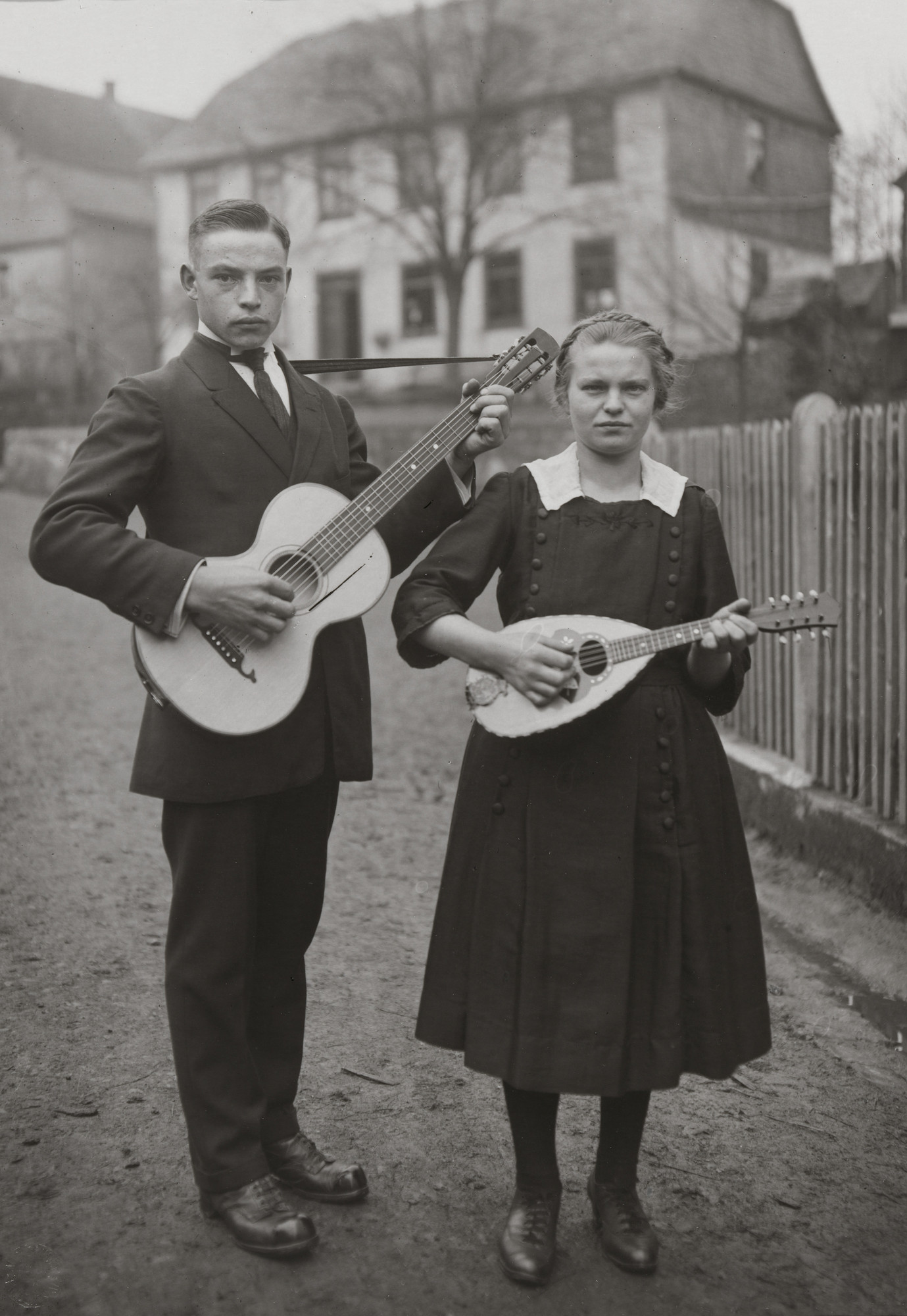 August Sander. Rural Brother and Sister. 1925-30