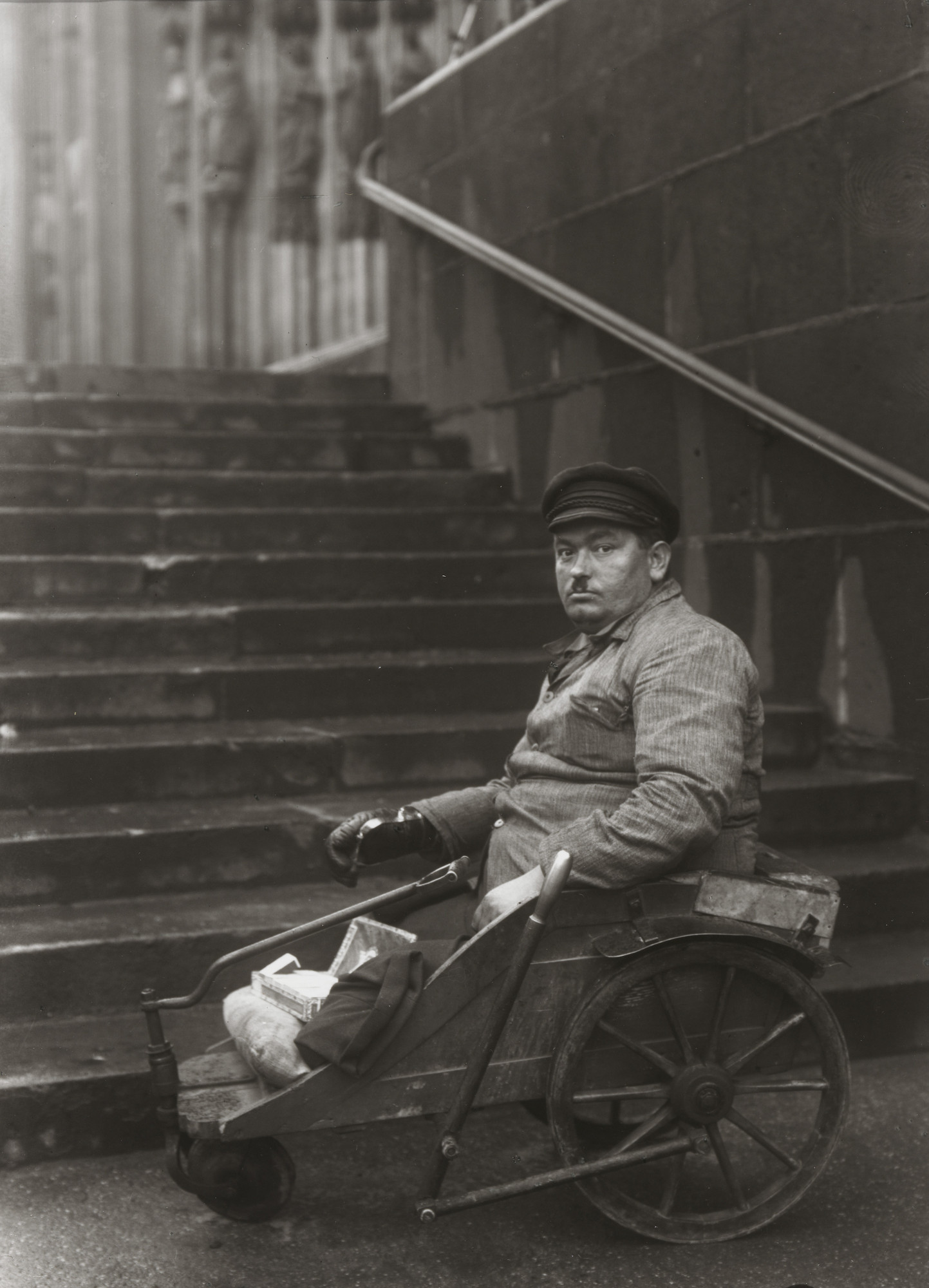 August Sander. Disabled Ex-serviceman. c. 1928