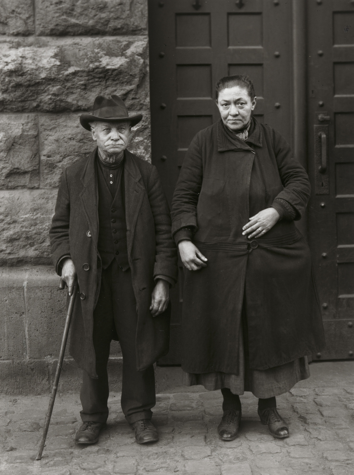 August Sander. Beggars, Married Couple. 1928