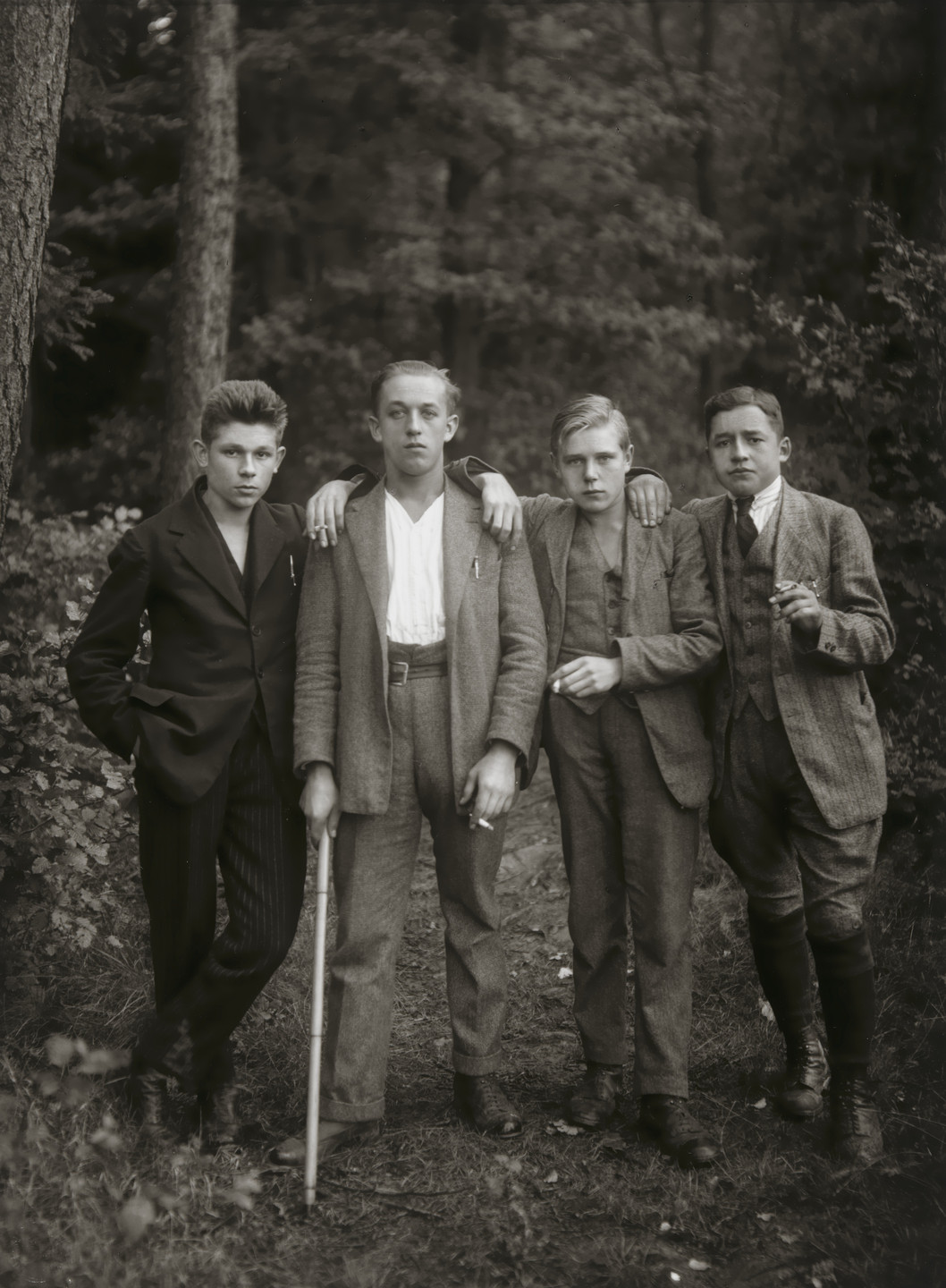 August Sander. Young Farmers. 1925-27