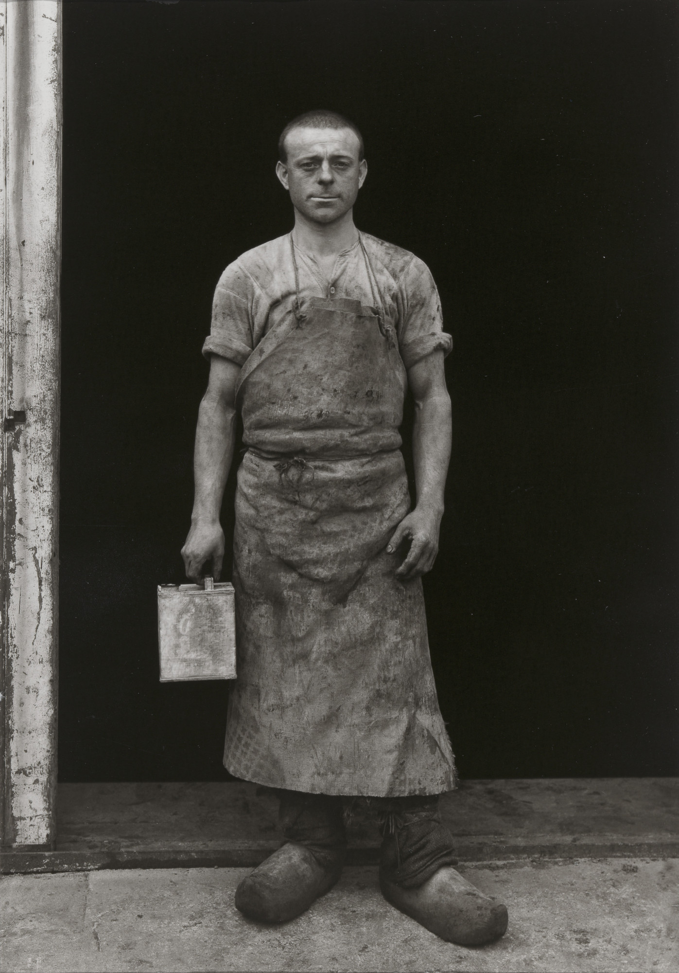 August Sander. Varnisher. c. 1930 | MoMA