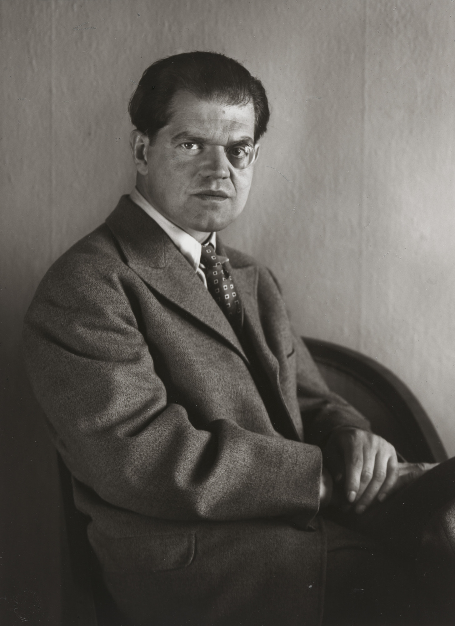 August Sander. Inventor and Dadaist [Raoul Hausmann]. 1929