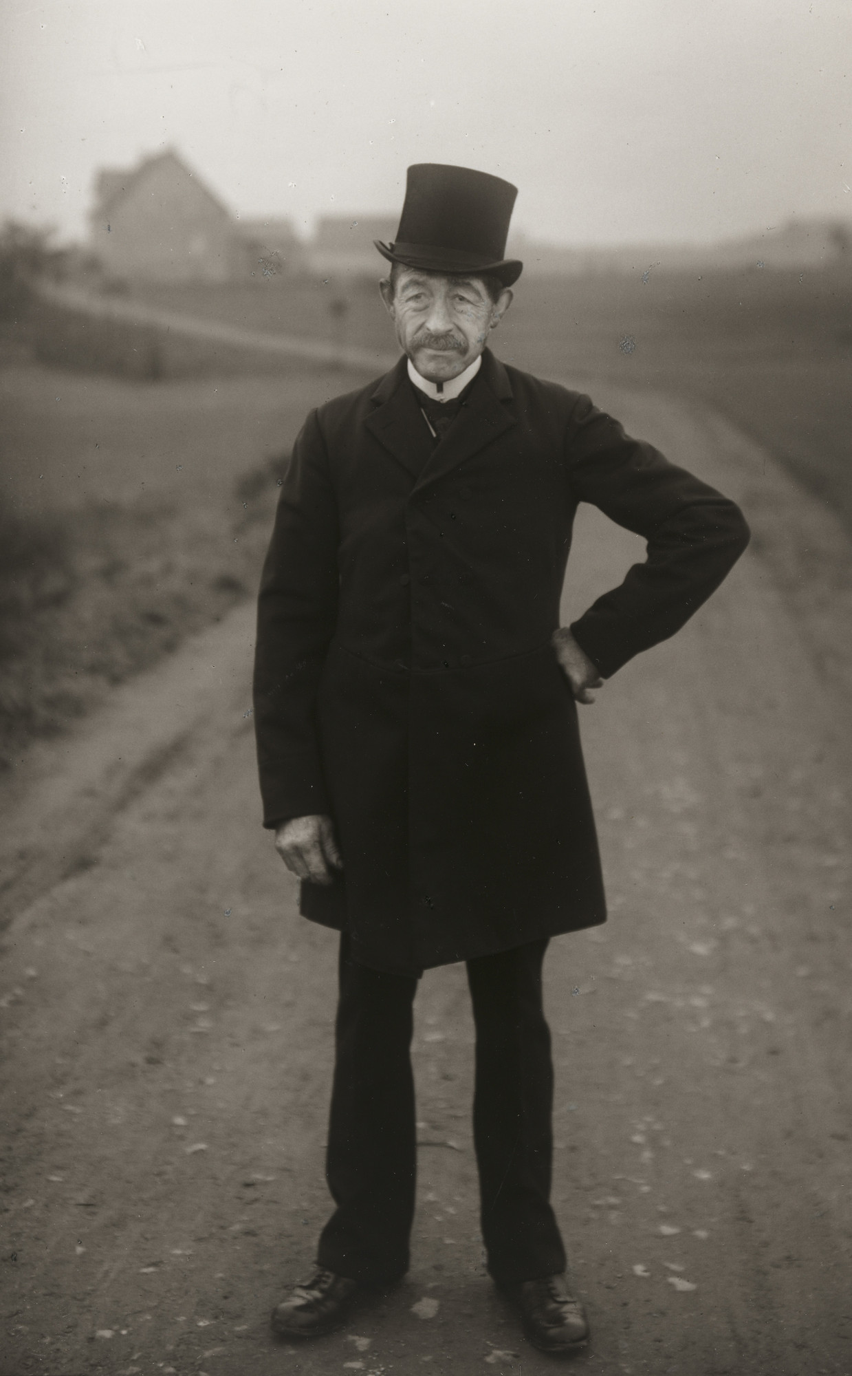 August Sander. Farmer on his Way to Church. 1925-26