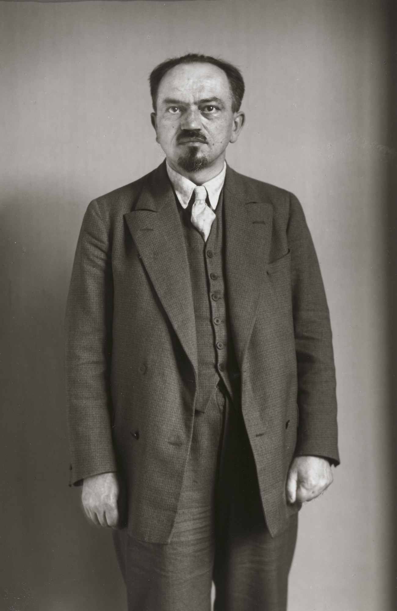 August Sander. Communist Leader [Paul Frölich]. 1929