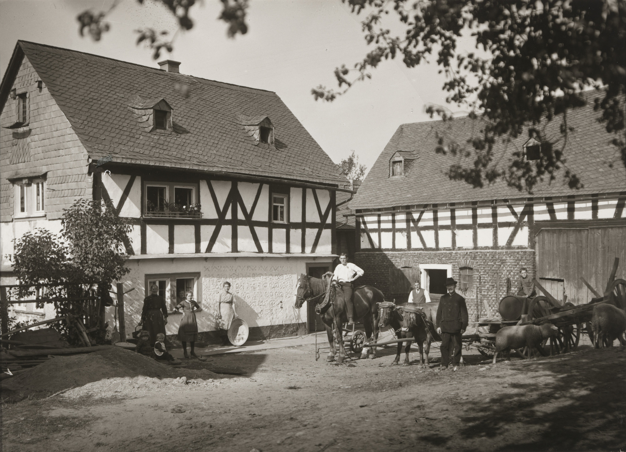 August Sander. Farm in the Westerwald. 1922
