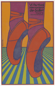 VI internacional festival de ballet (6th international ballet festival) (Poster for the documentary film by Bernabé Hernández)
