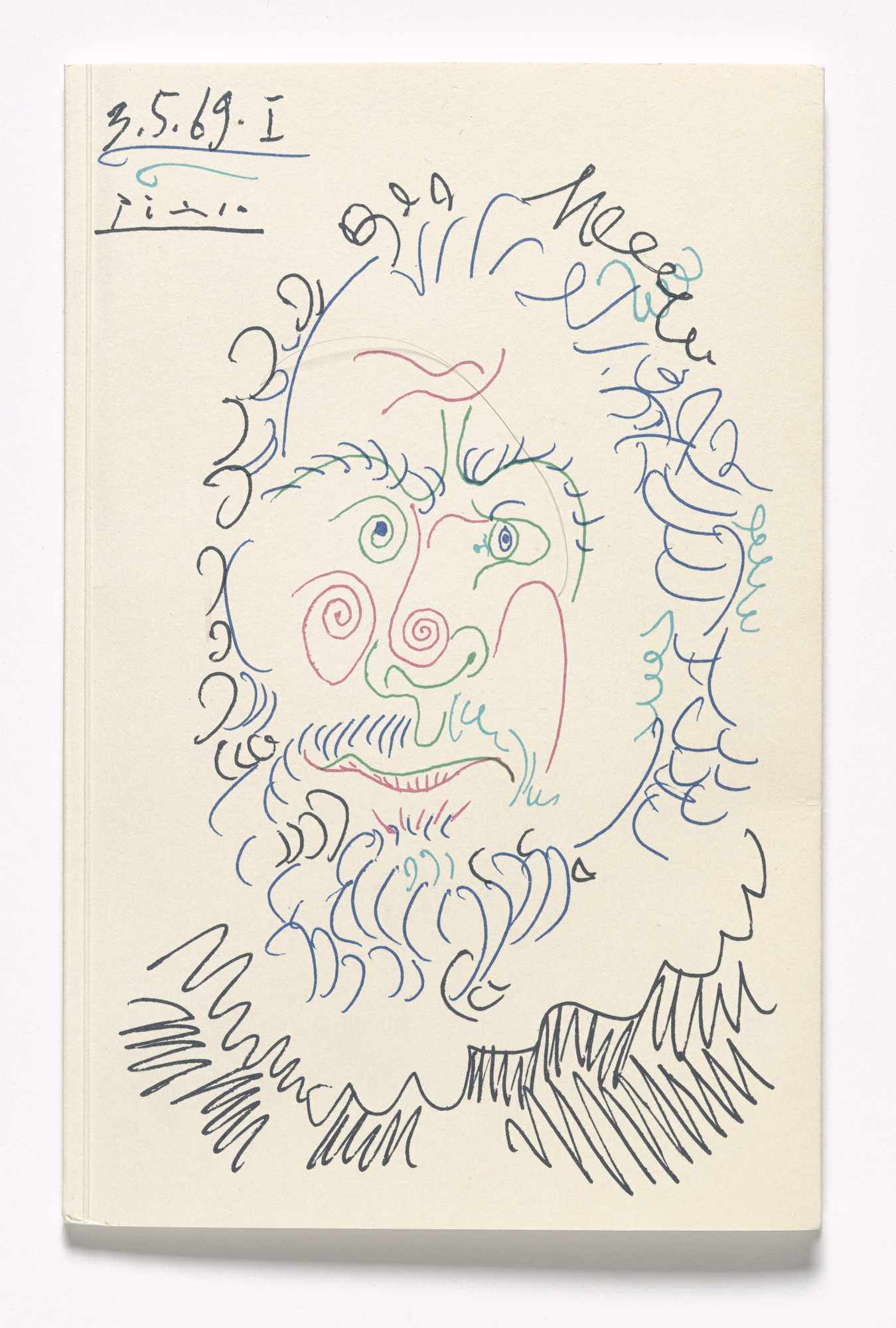 Pablo Picasso. Untitled. 1969
