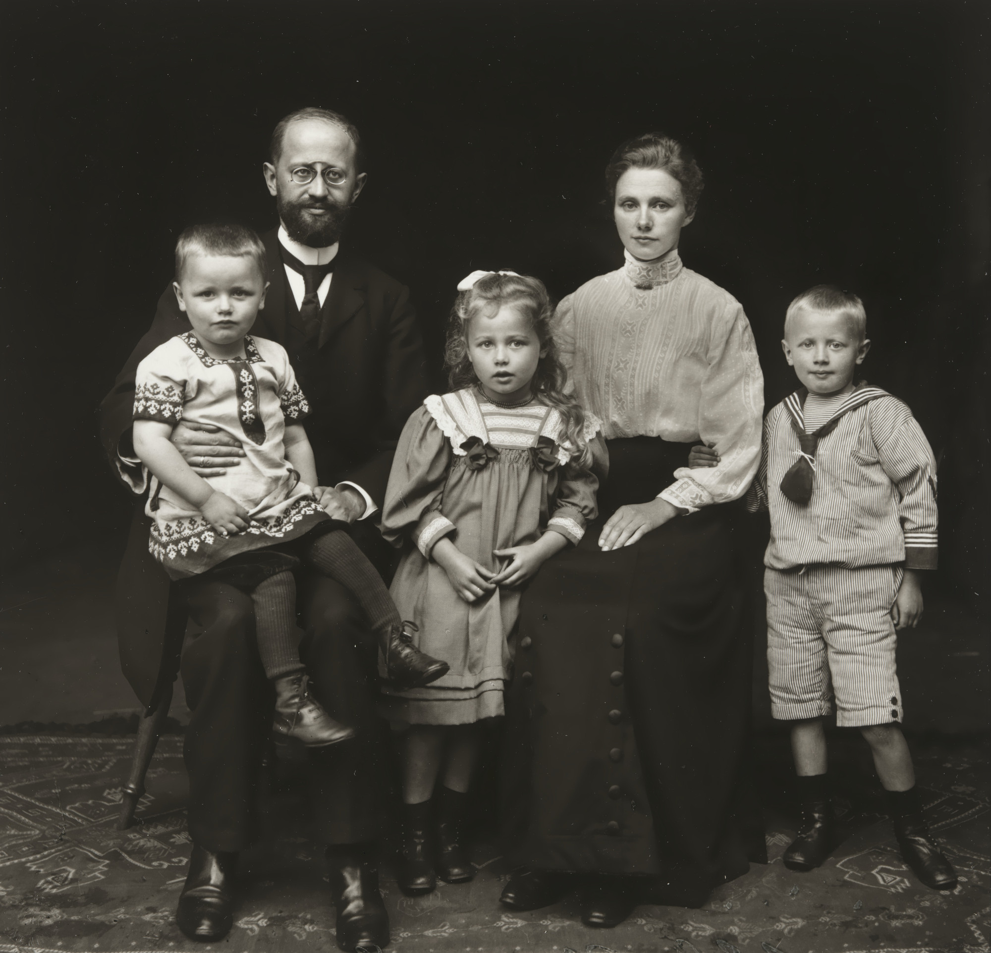 August Sander. Village Pastor and Family. 1920-25