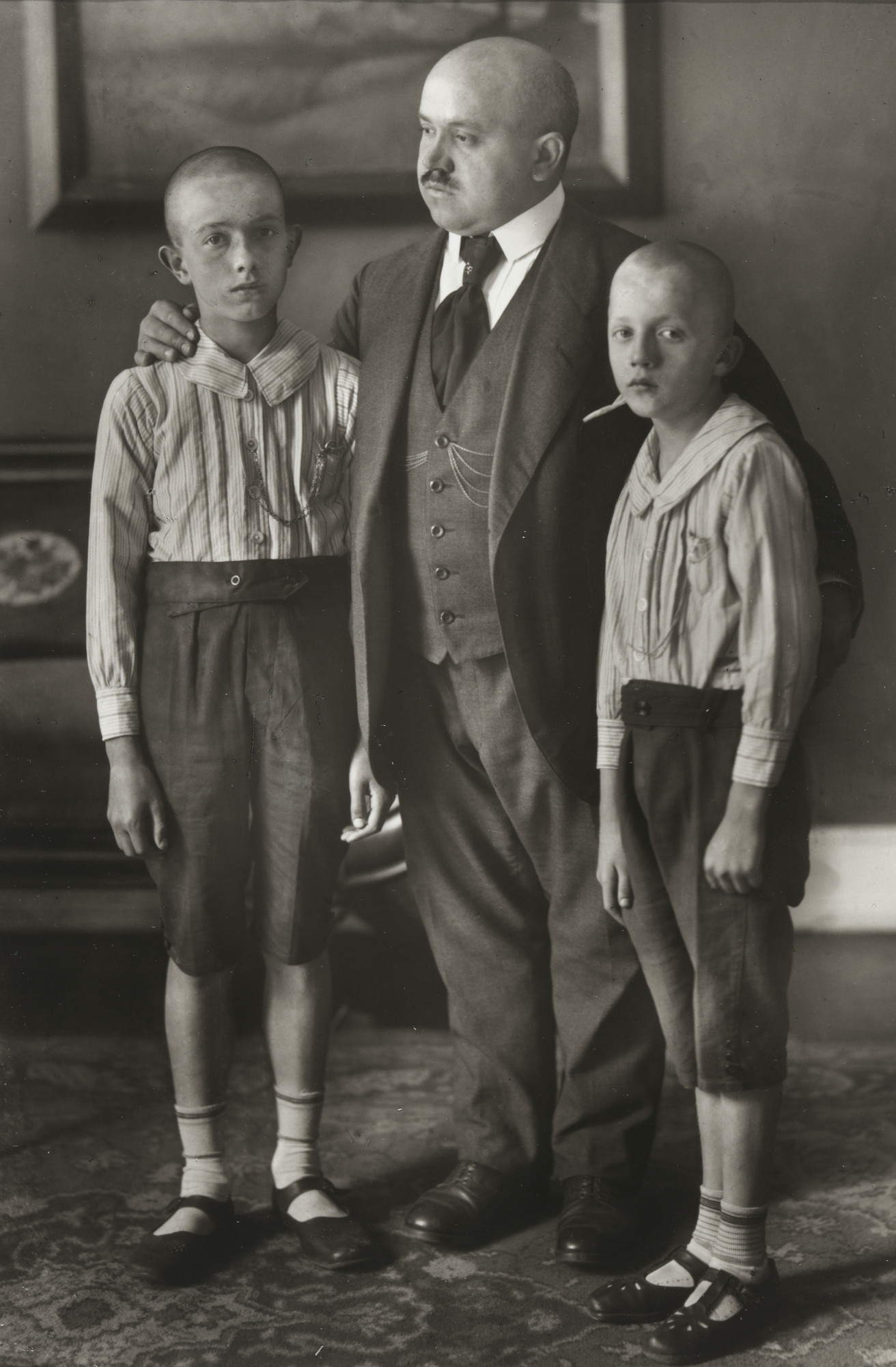 August Sander. Widower. 1914