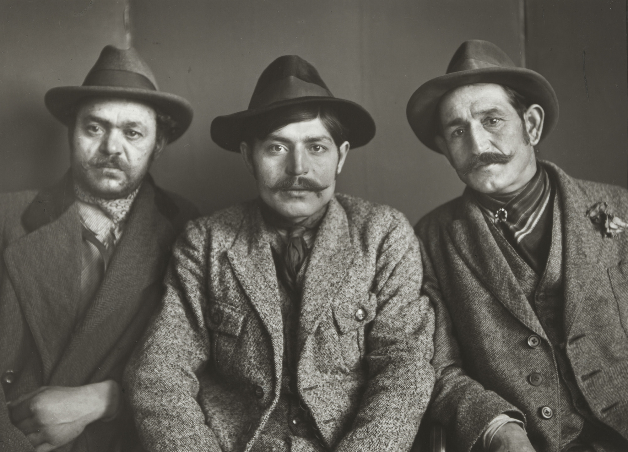 August Sander. Three Turks. 1924-30