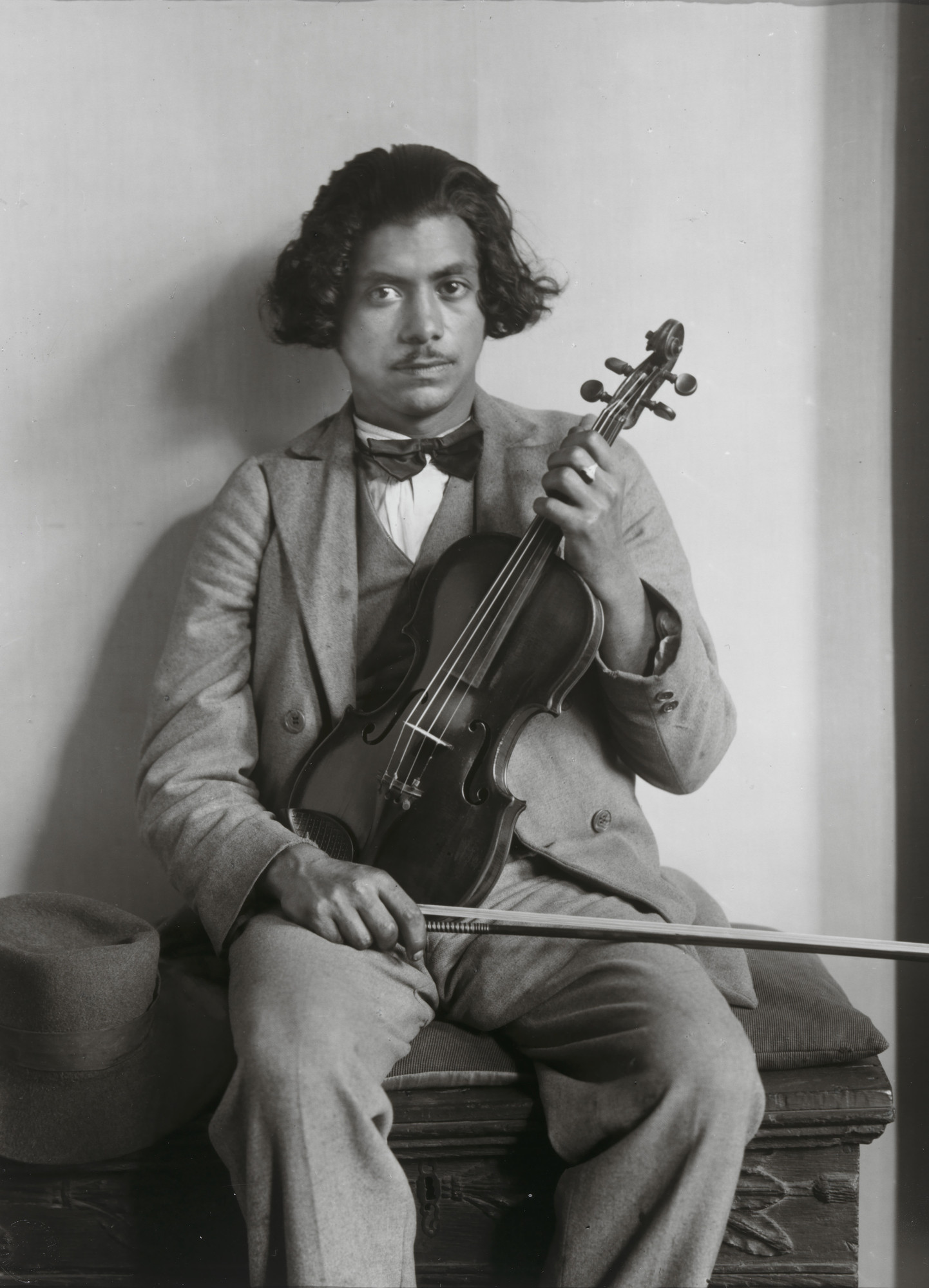 August Sander. First Violinist in Gypsy Band. c. 1930