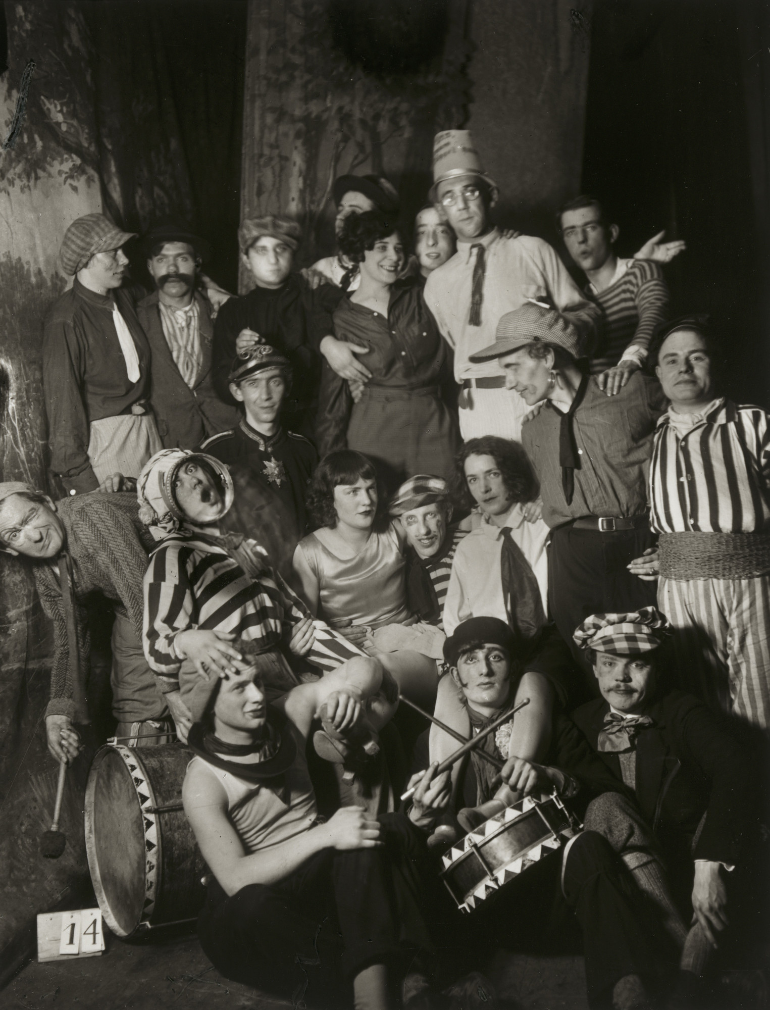 August Sander. Artists' Carnival in Cologne. 1931
