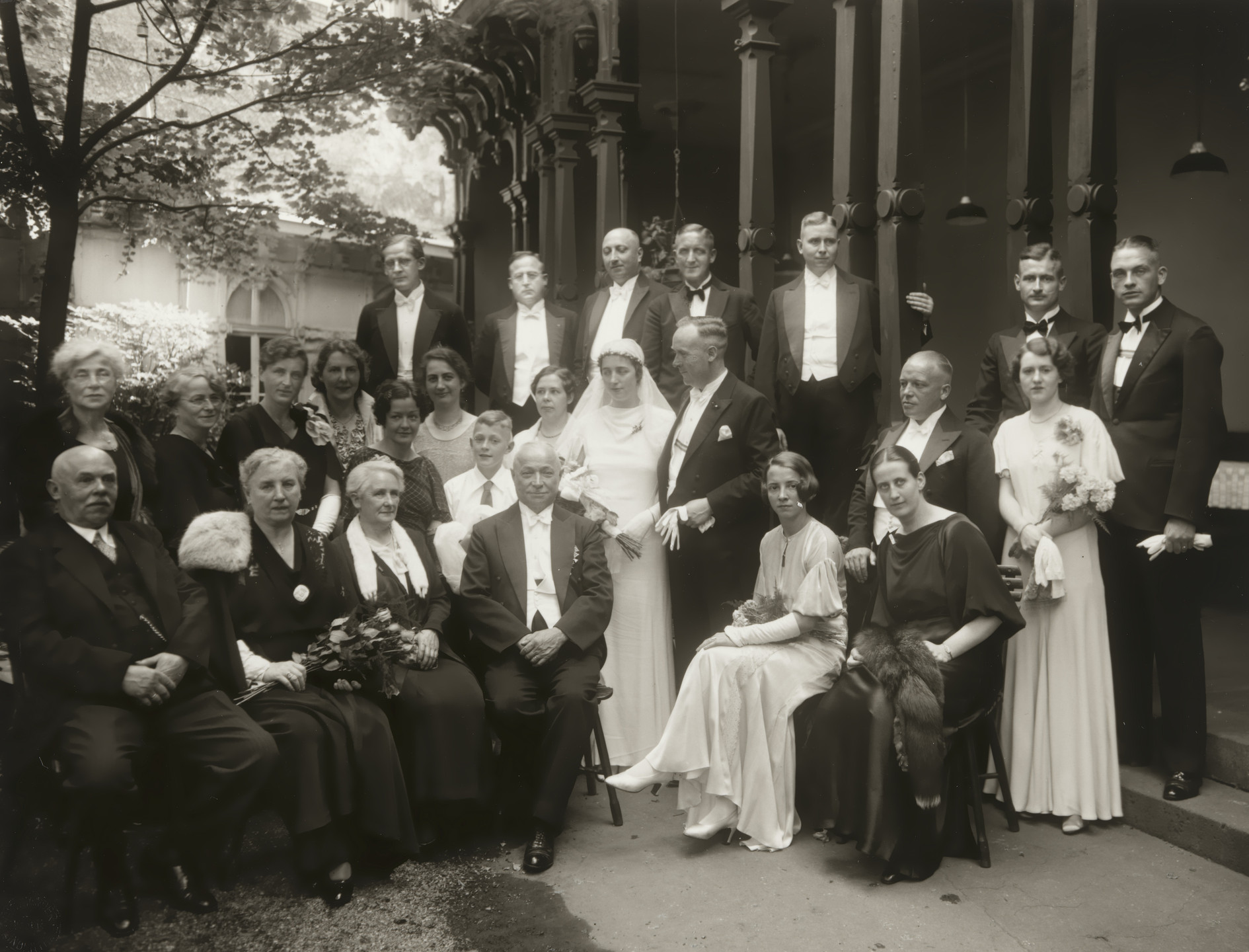 August Sander. Wedding Party. c. 1930