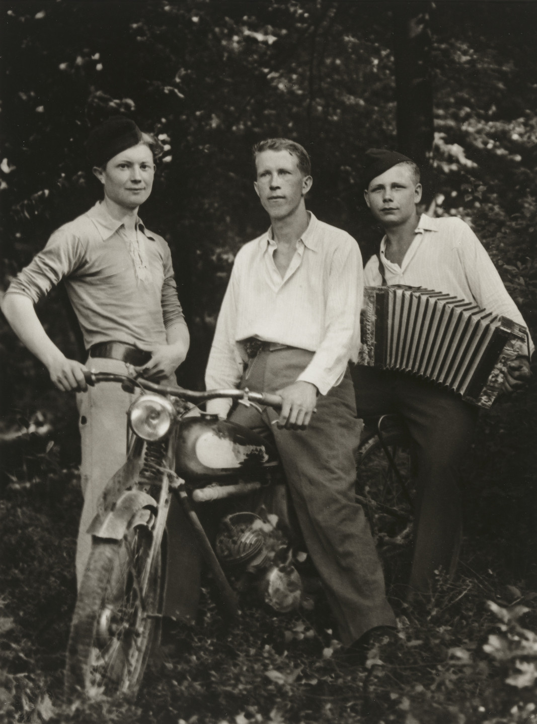 August Sander. Foreign Workers. 1941-45
