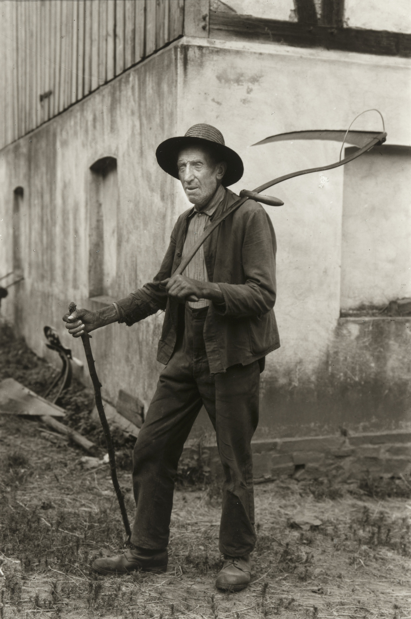 August Sander. Farmer from the Eifel. 1930