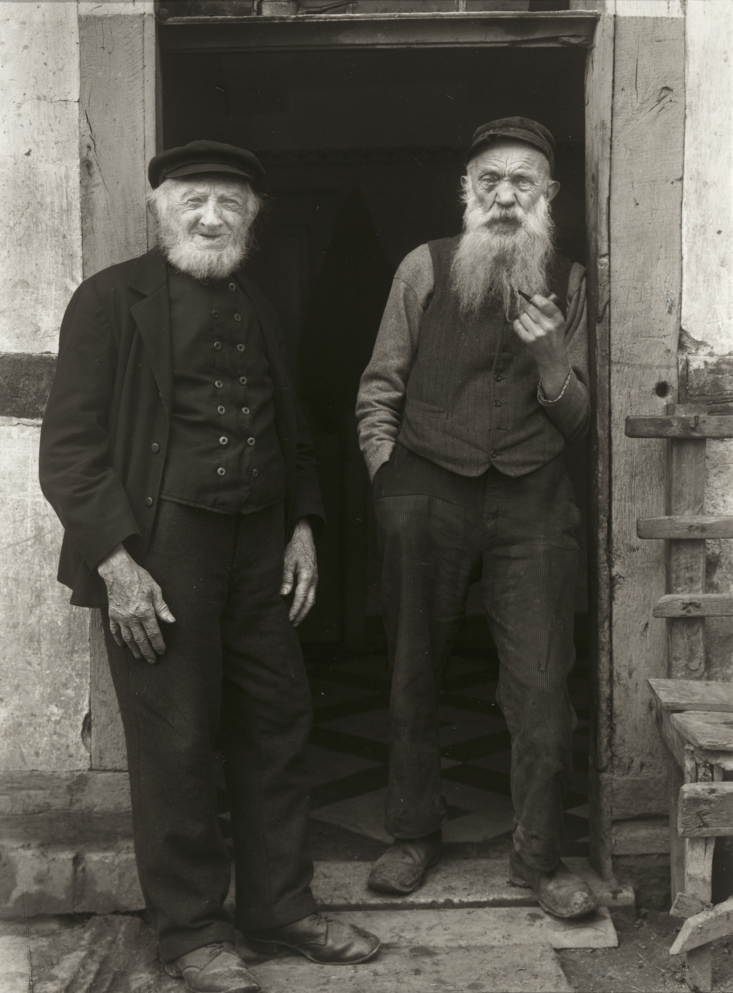 August Sander. Farmers from Leuscheid. 1926