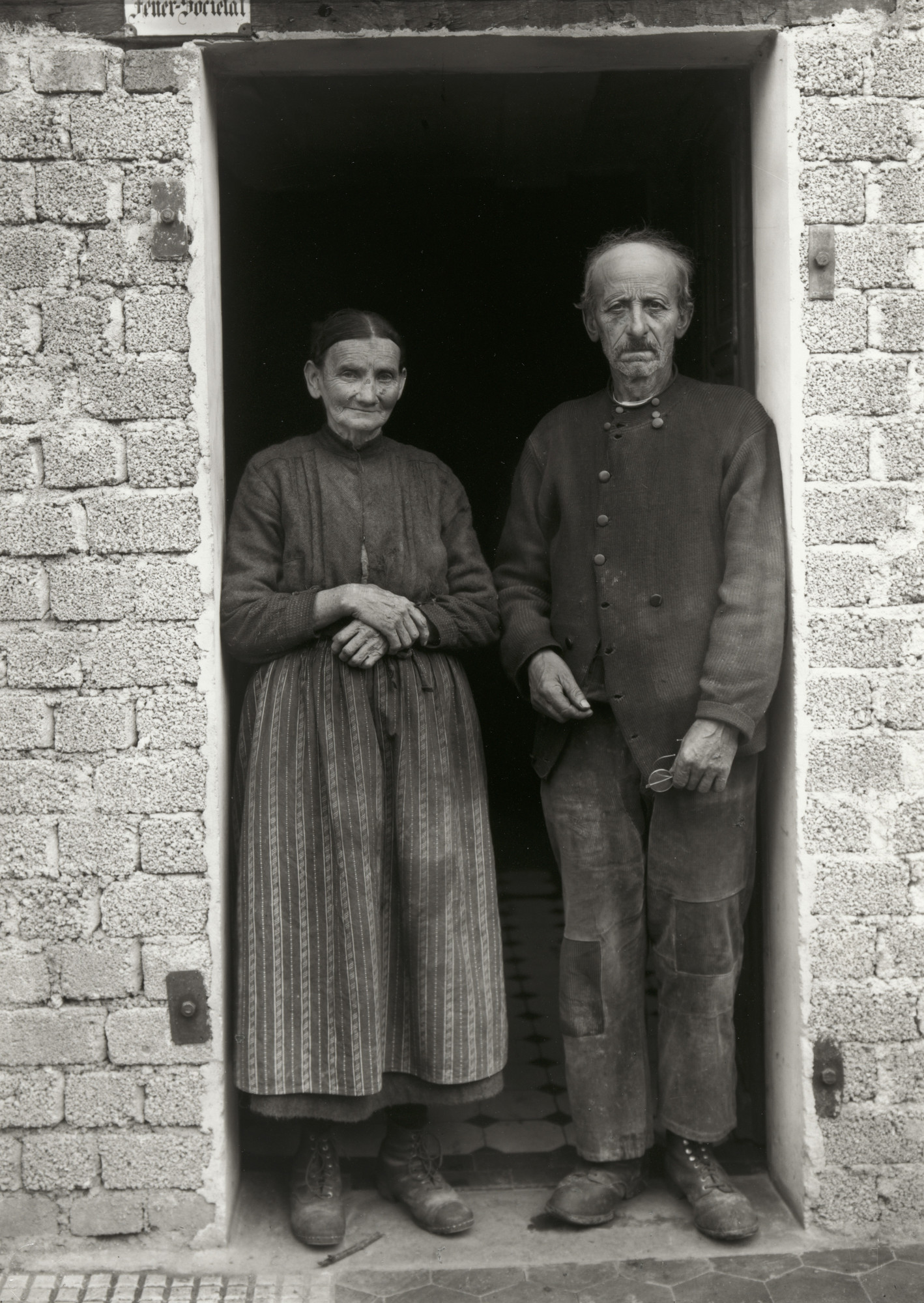 August Sander. Farming Couple. c. 1932