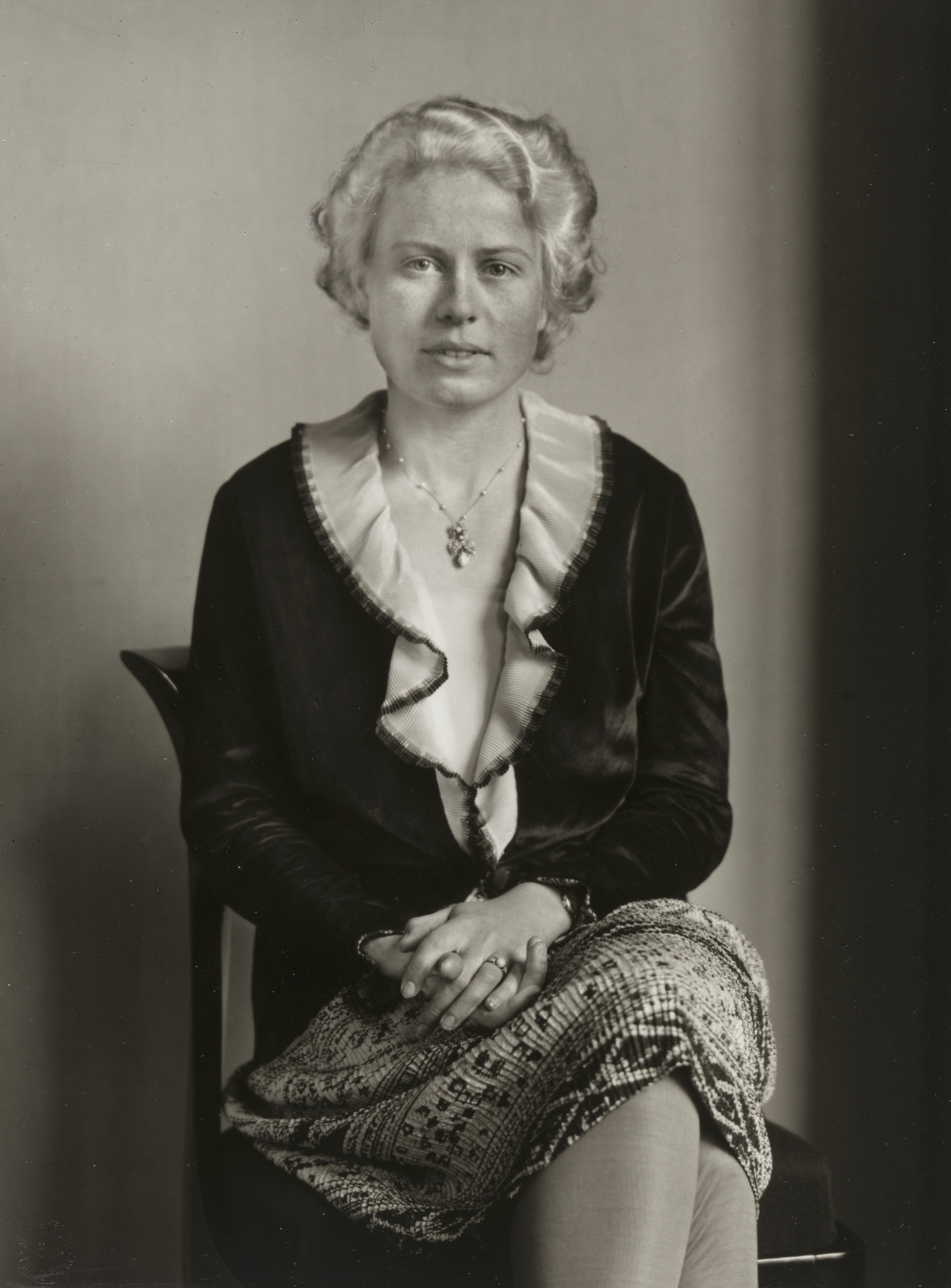 August Sander. Society Lady. c. 1930