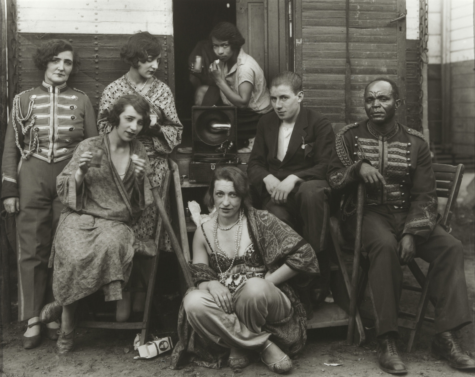 August Sander. Circus Artists. 1926-32