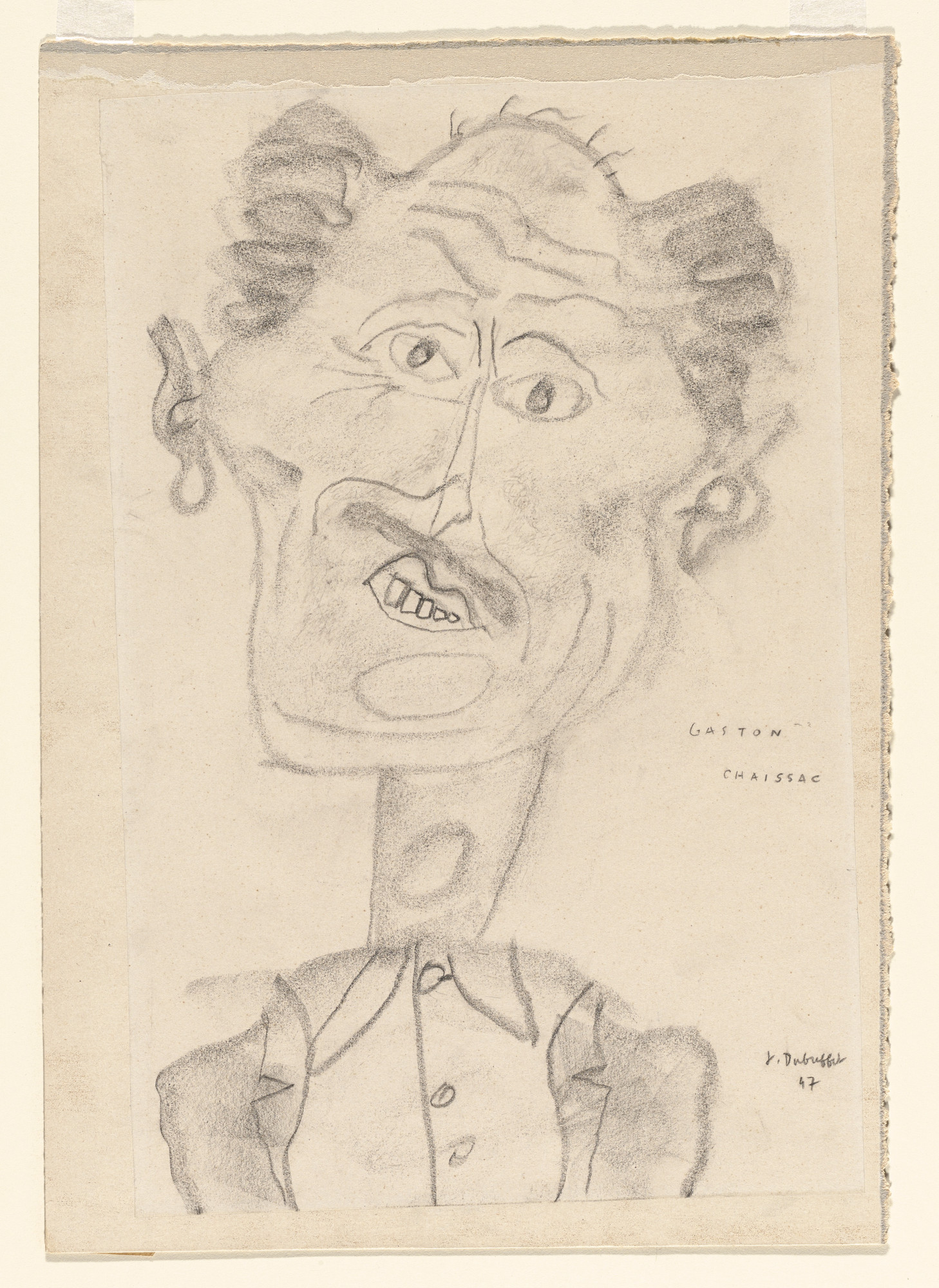 Jean Dubuffet. Gaston Chaissac. 1947