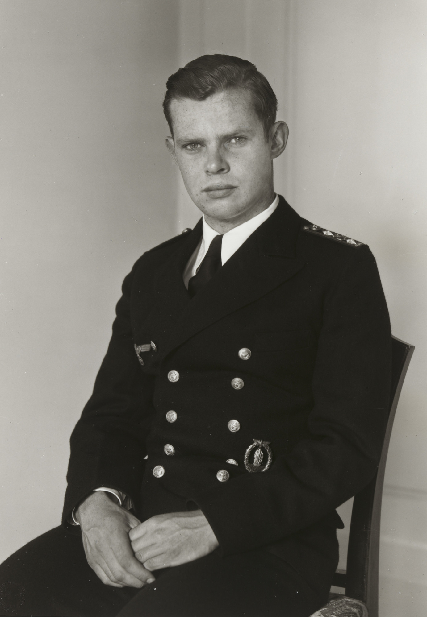 August Sander. Naval Officer. c. 1944