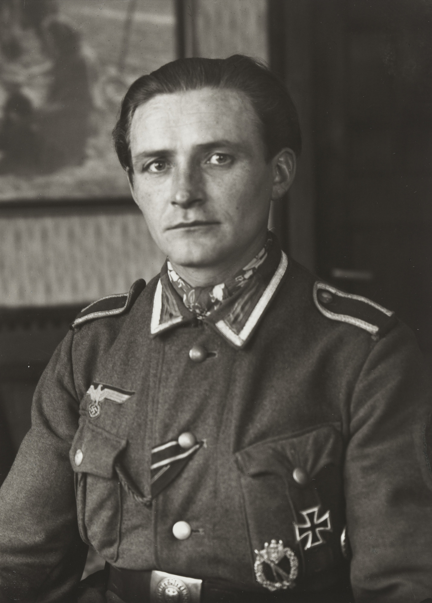 August Sander. Non-commissioned Officer. c. 1944