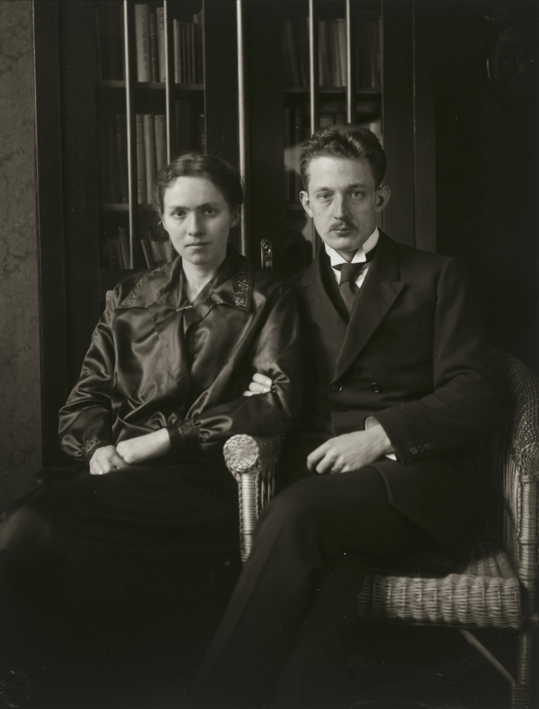 August Sander. Clergyman and Wife. c. 1929