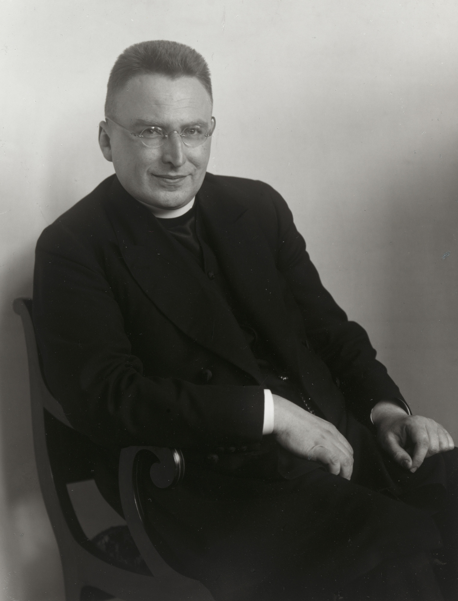 August Sander. Catholic Priest. c. 1926