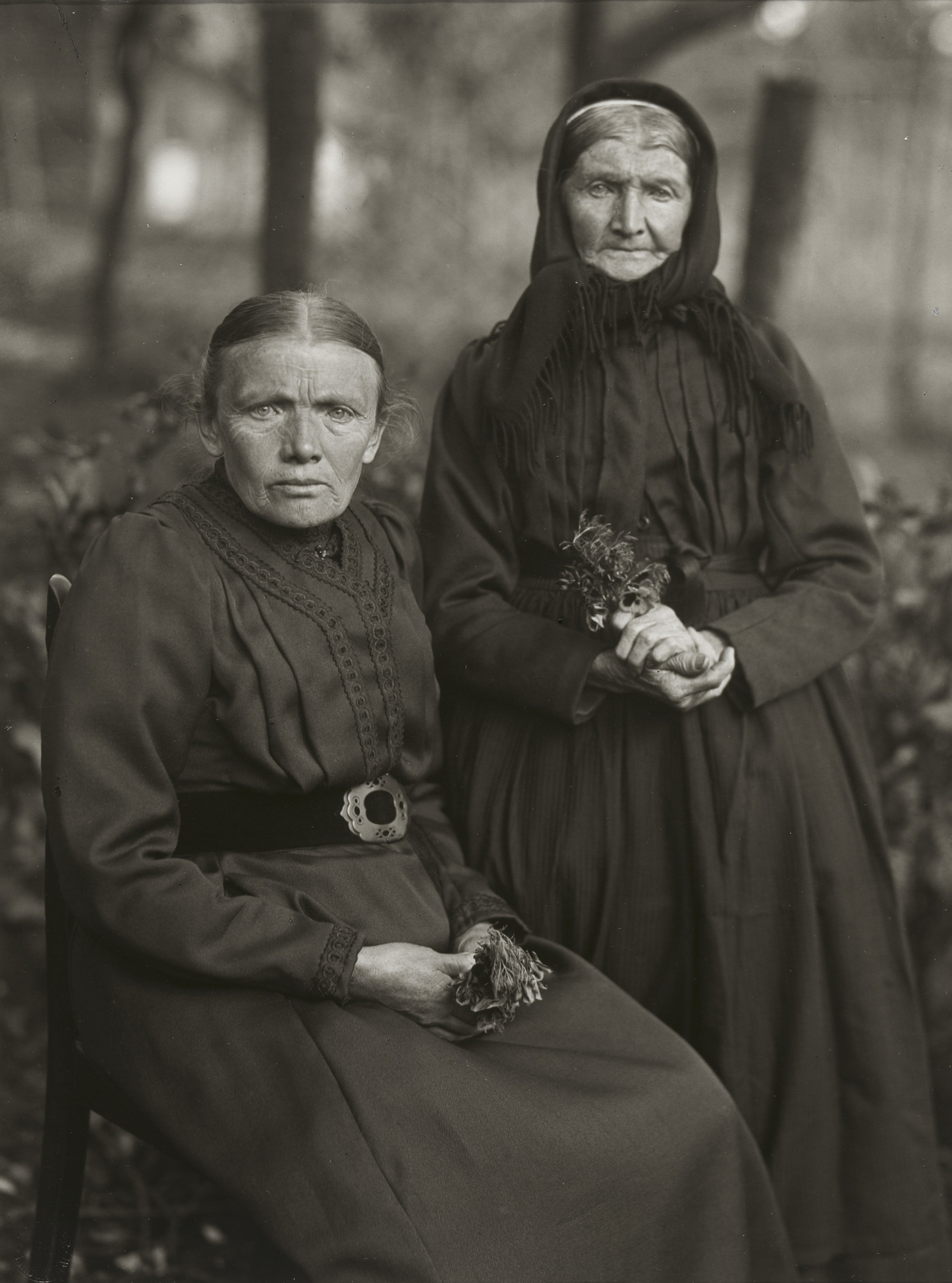 August Sander. Mother and Daughter. Farmer's Wife and Miner's Wife. 1912