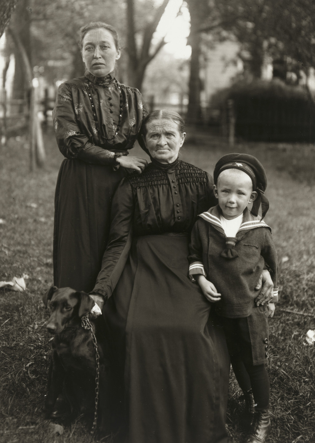 August Sander. Mother, Daughter and Grandson. c. 1920