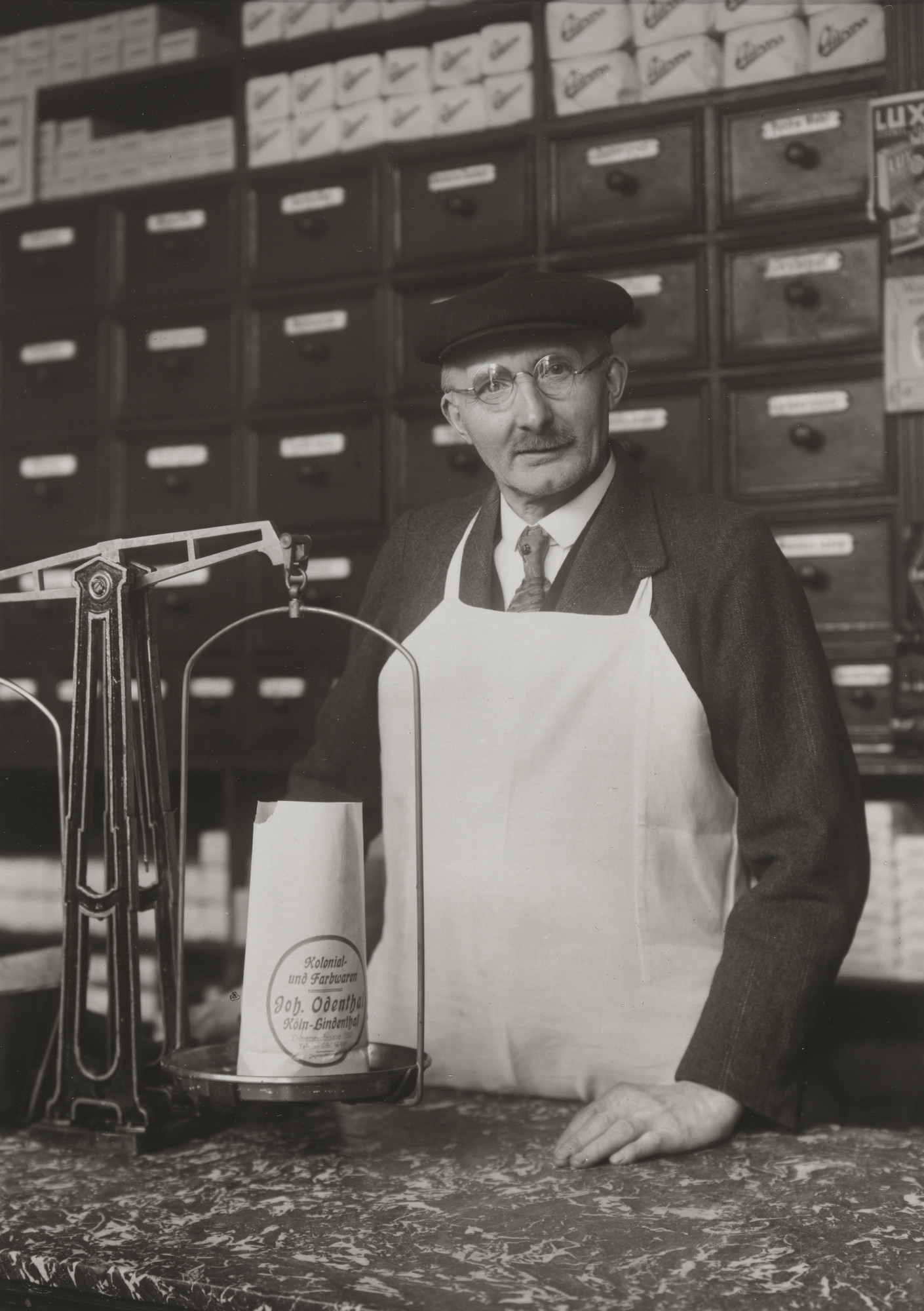 August Sander. Grocer and Hardware Dealer. c. 1929