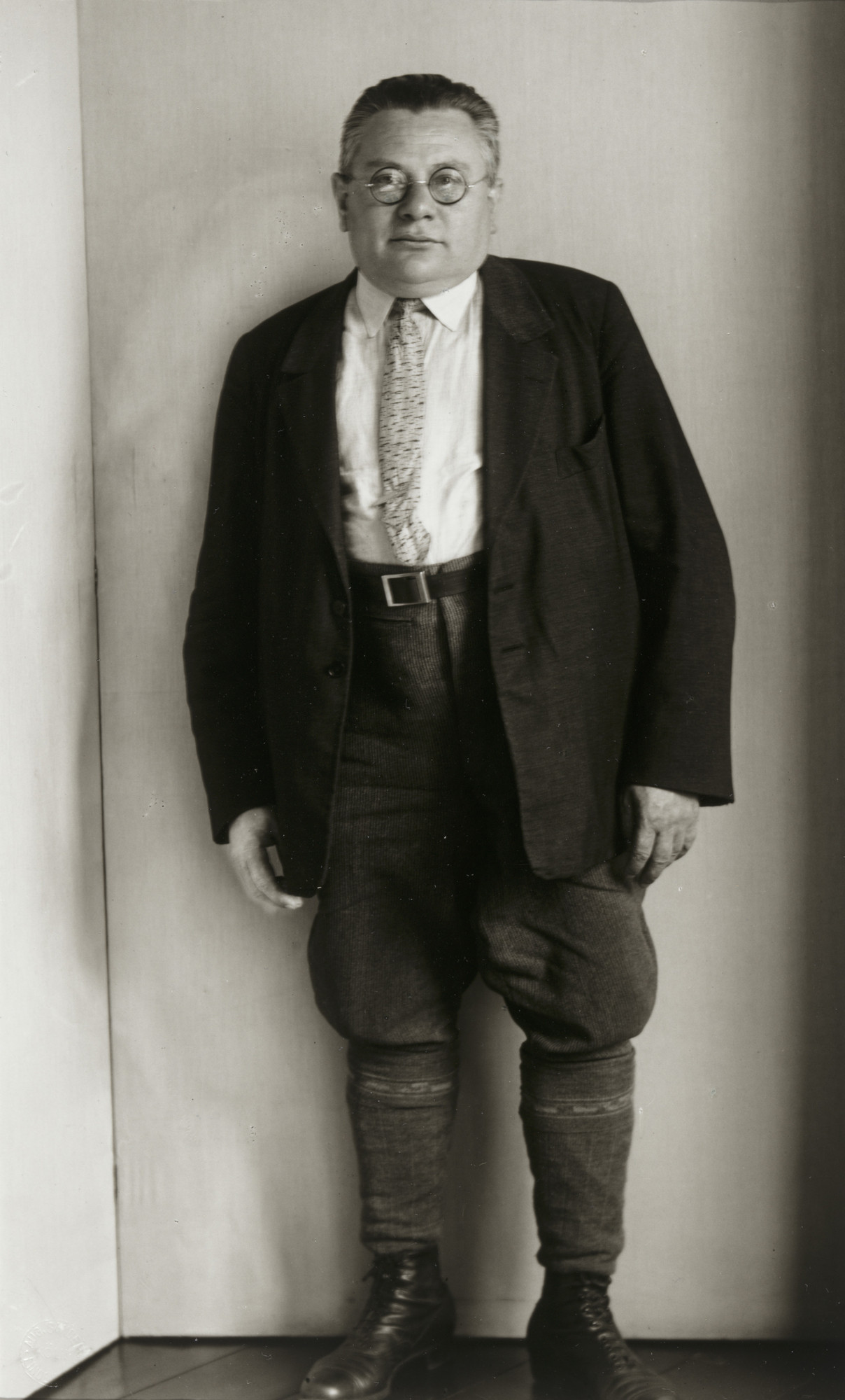 August Sander. Co-founder of the SAP, Socialist Workers Party [Heinrich Brandler]. c. 1931