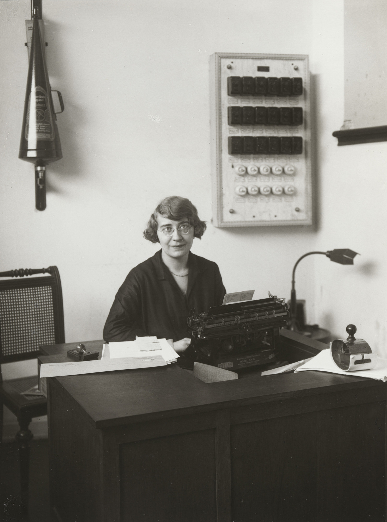 August Sander. Office Worker. c. 1928