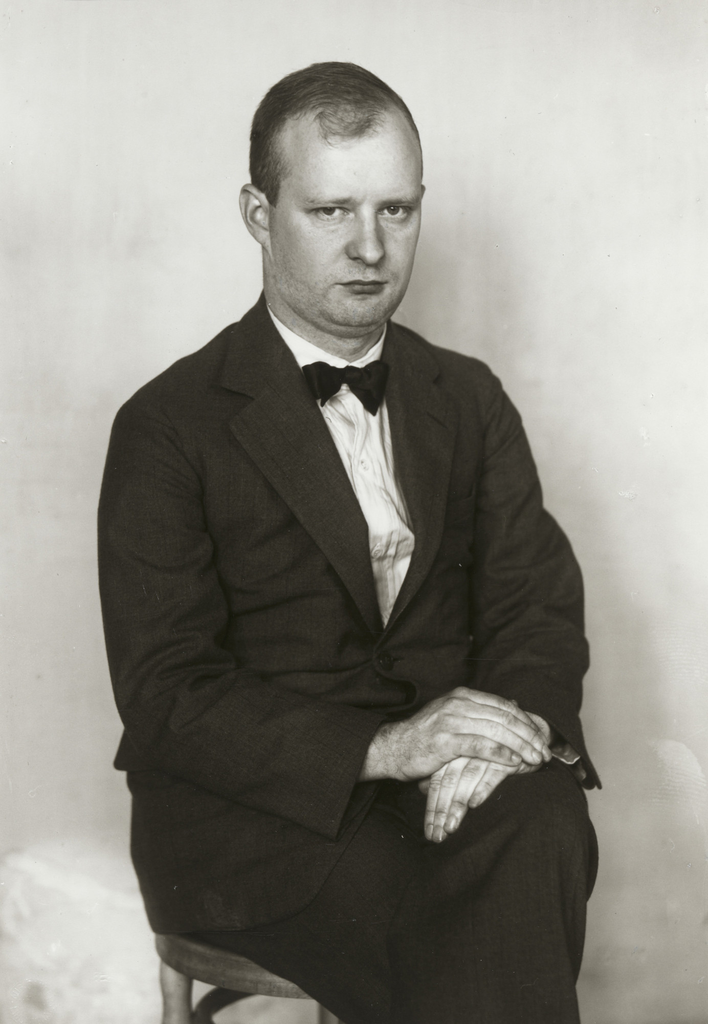 August Sander. The Composer [Paul Hindemith]. c. 1925