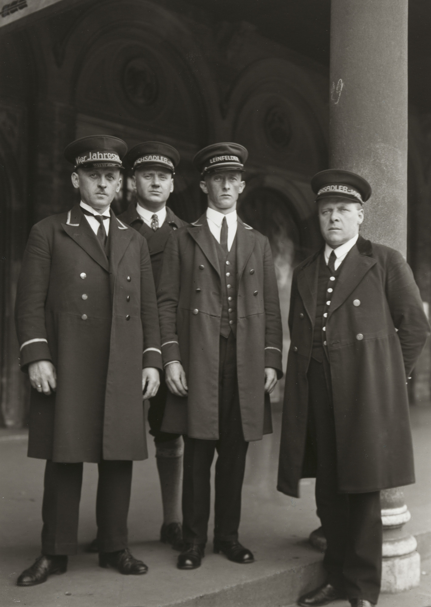 August Sander. Hotel Staff in Hamburg. c. 1929