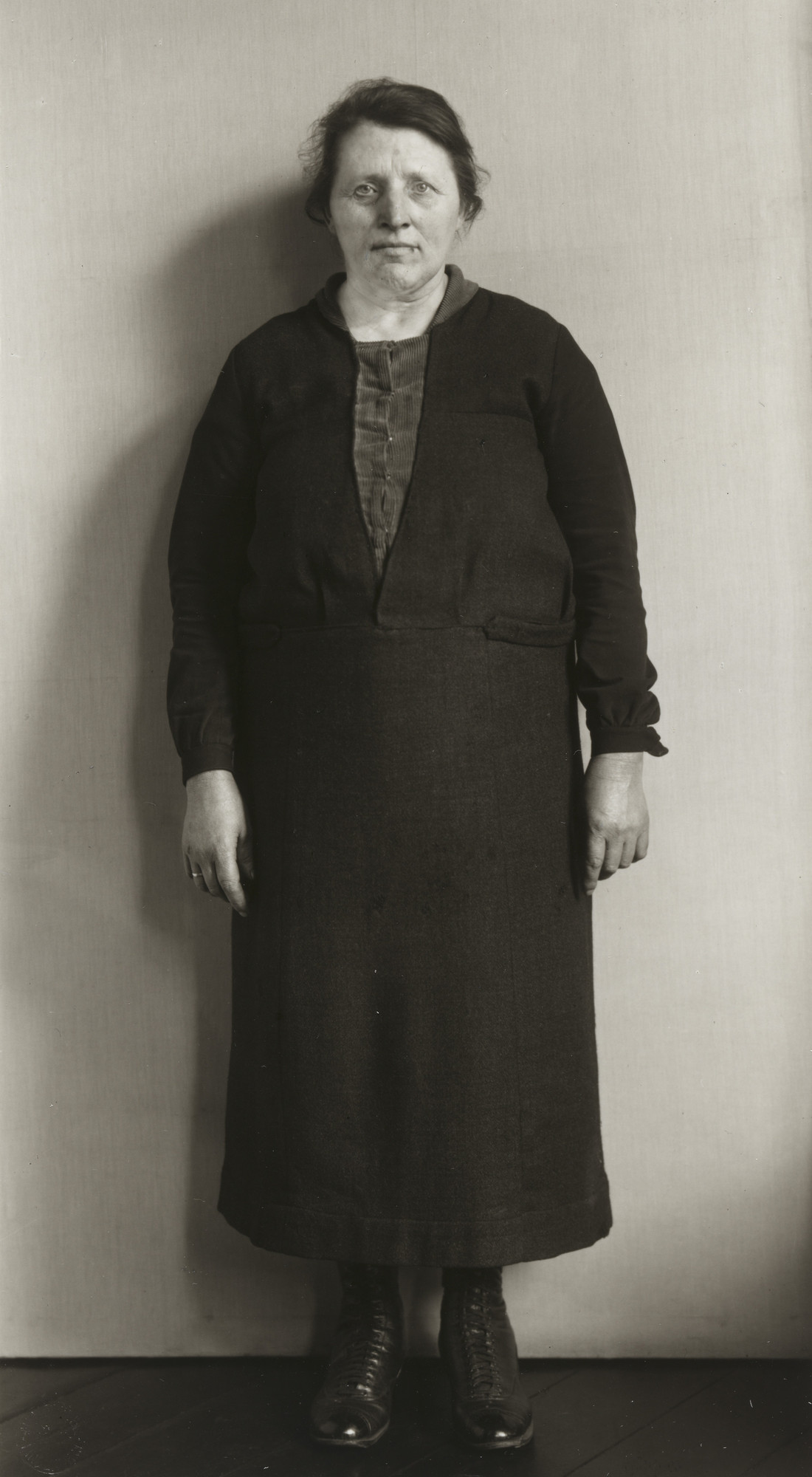 August Sander. Cleaning Woman. c. 1930
