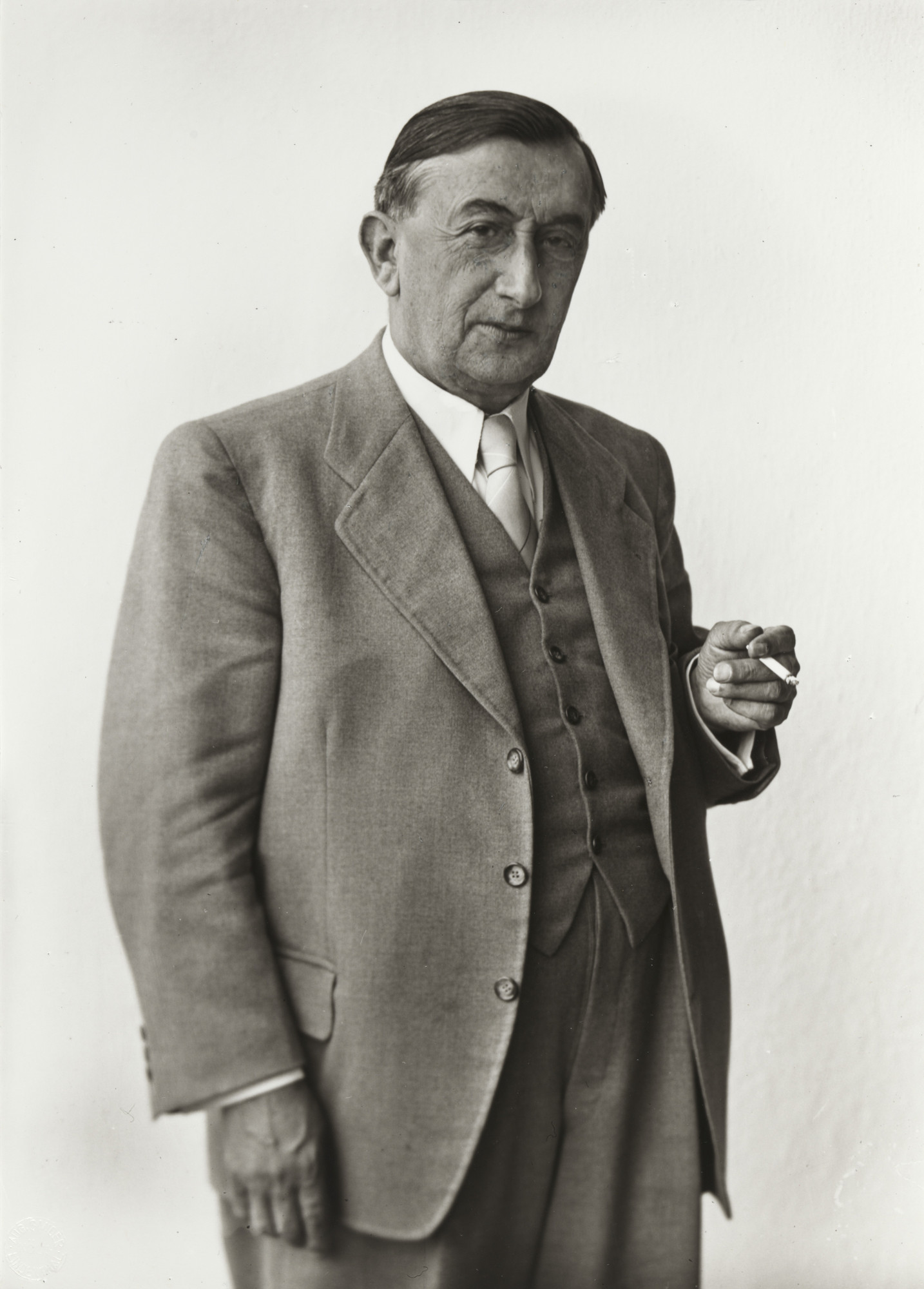 August Sander. Mayor of Cologne  [Robert Görlinger]. 1954