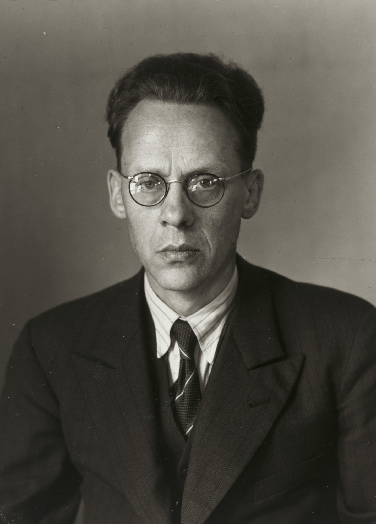 August Sander. Politician and Publisher[Otto Schmidt]. 1930