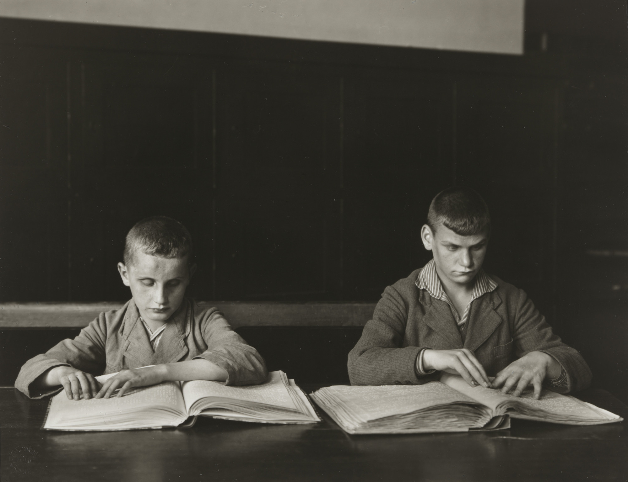 August Sander. Blind Children. c. 1930