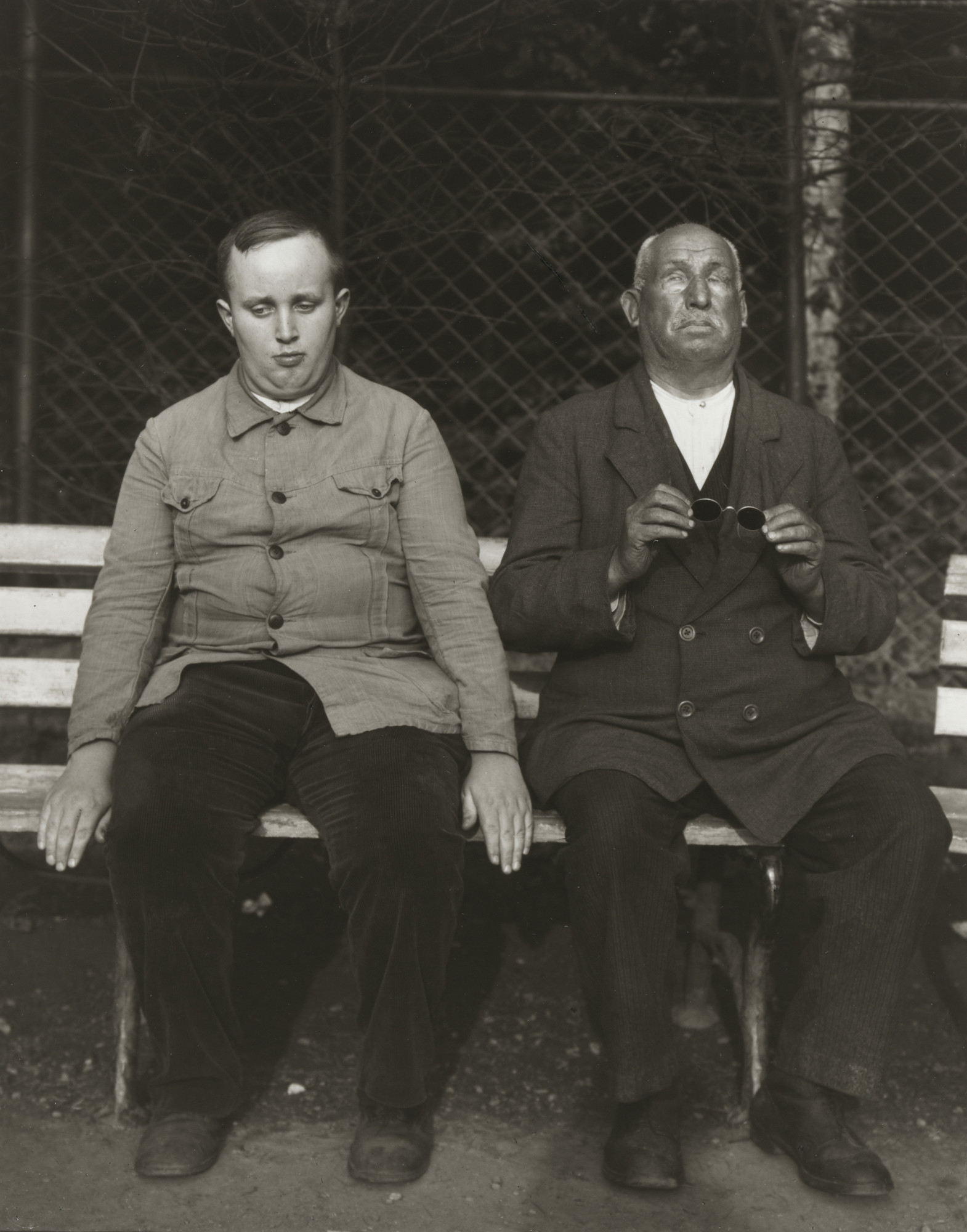 August Sander. Blind People. c. 1930