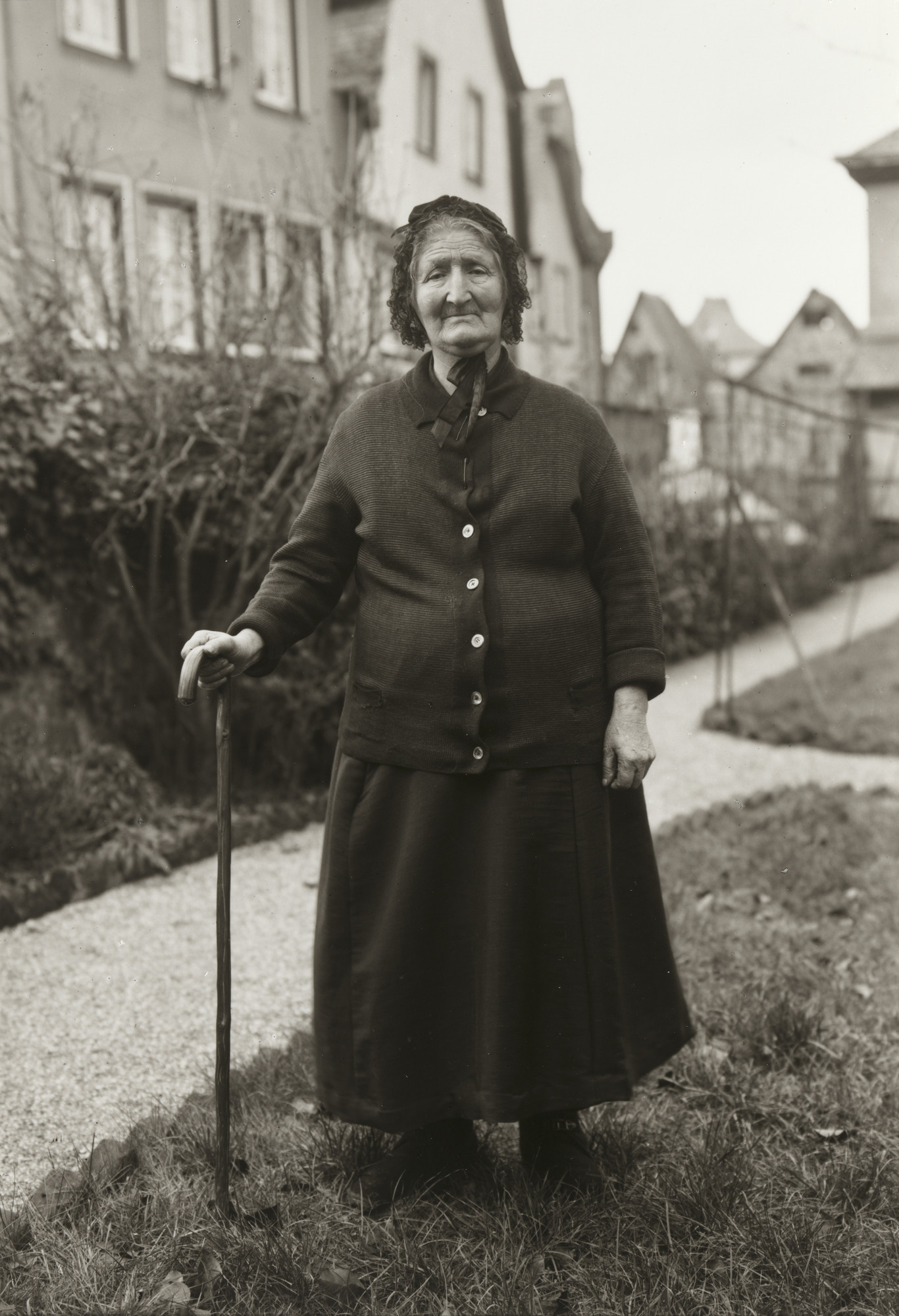 August Sander. Old Washerwoman. 1930-35