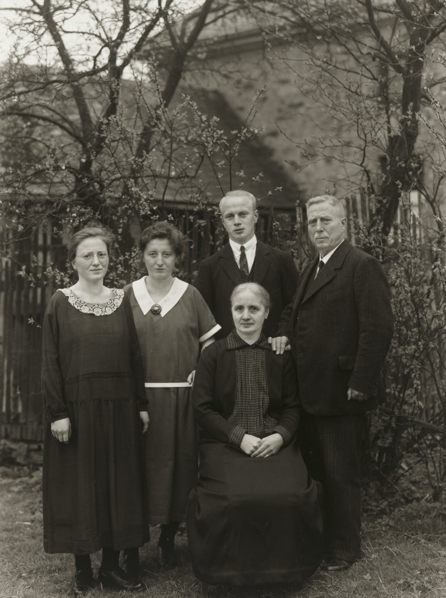 August Sander. Headmaster with his Family. c. 1930