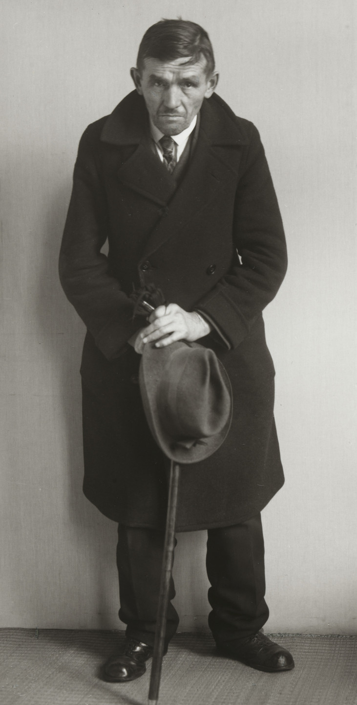 August Sander. Welfare Recipient. 1930