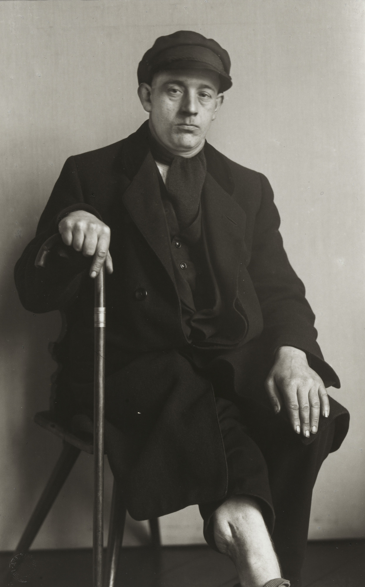 August Sander. Disabled Waggoner. 1930