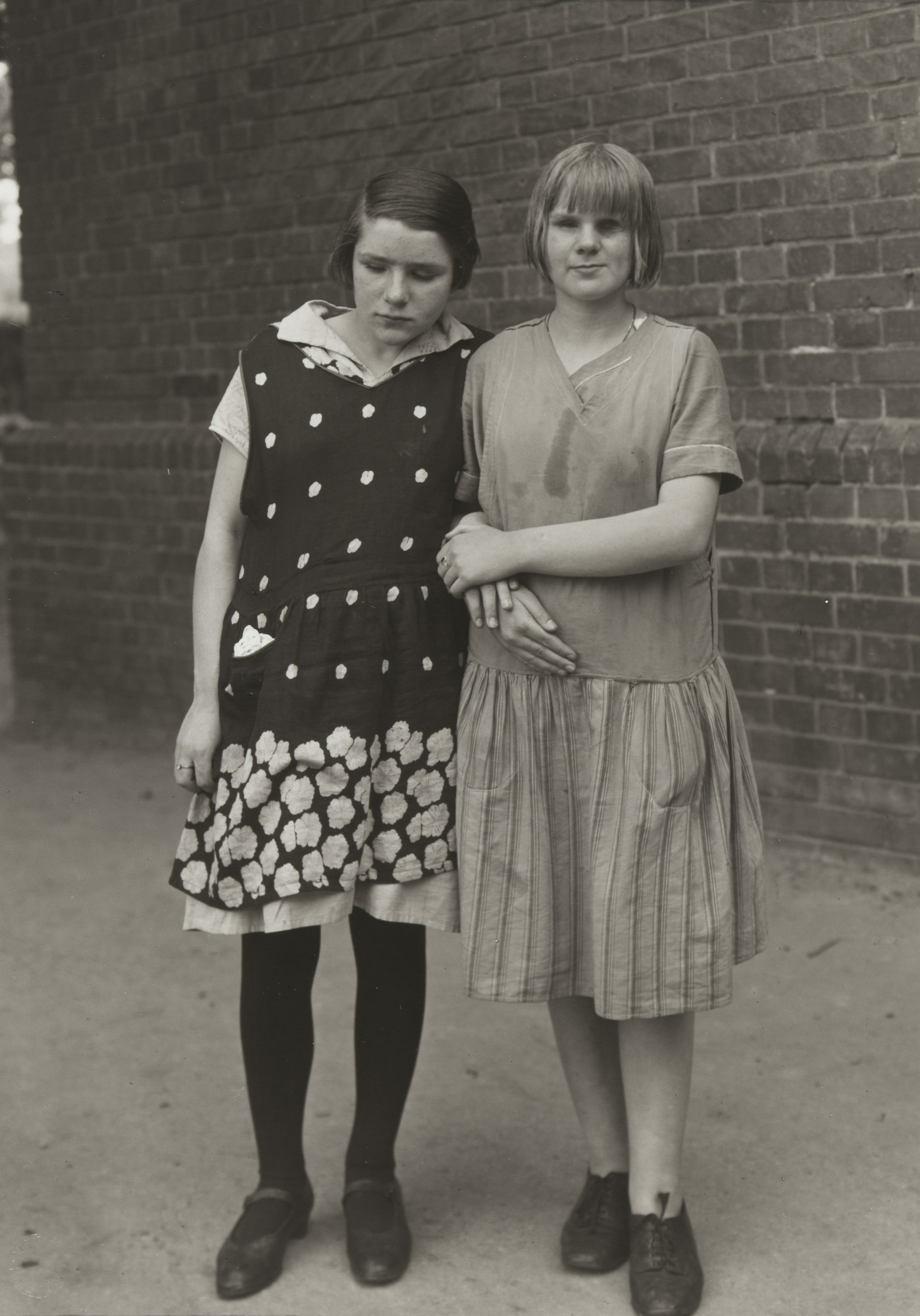 August Sander. Blind Girls. c. 1930