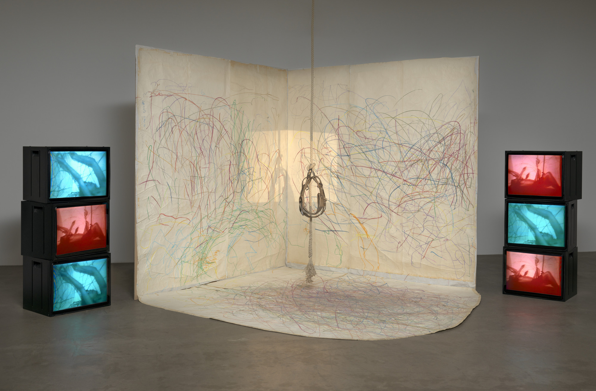 Carolee Schneemann. Up to and Including Her Limits. 1973–76