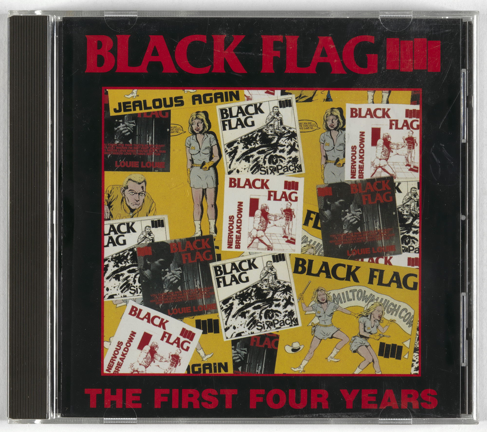 Black Flag, Raymond Pettibon. The First Four Years. 1983
