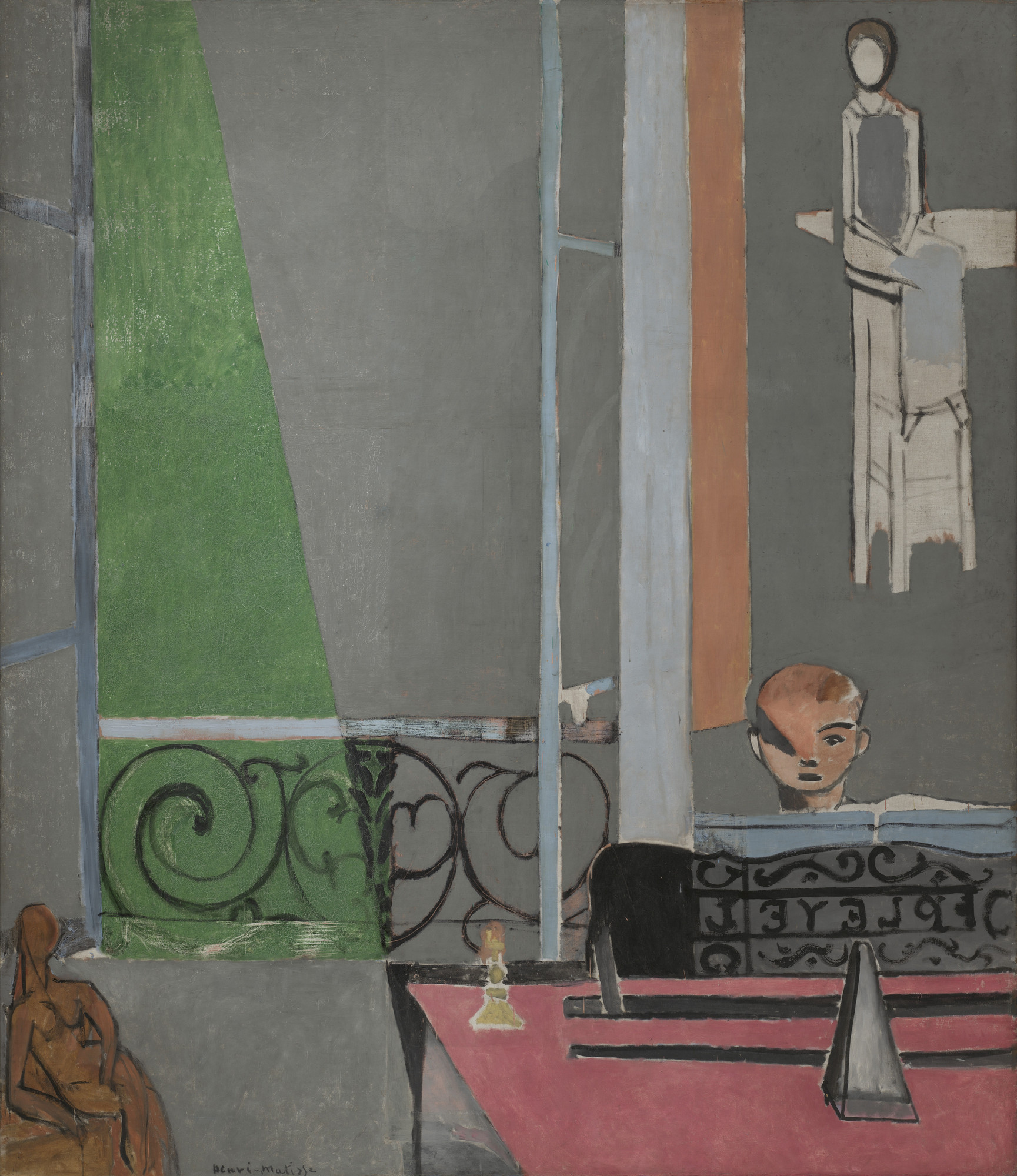 Henri Matisse. The Piano Lesson. Issy-les-Moulineaux, late summer 1916