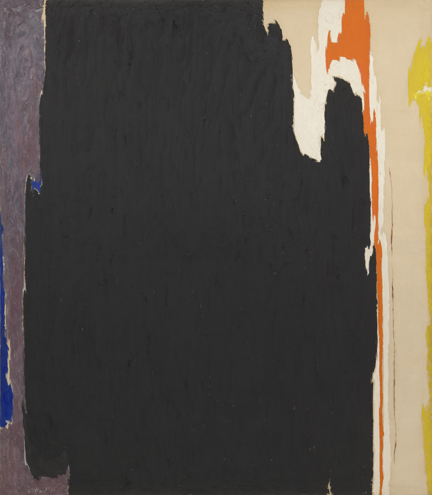 Clyfford Still. 1951-T No. 3. 1951